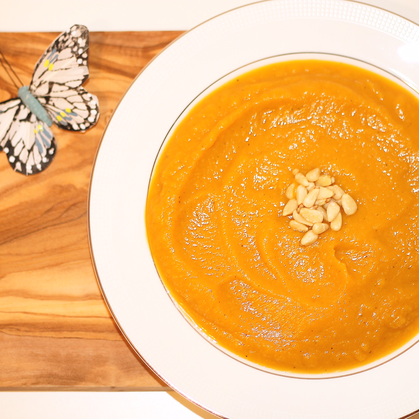 Butternut Ginger Soup