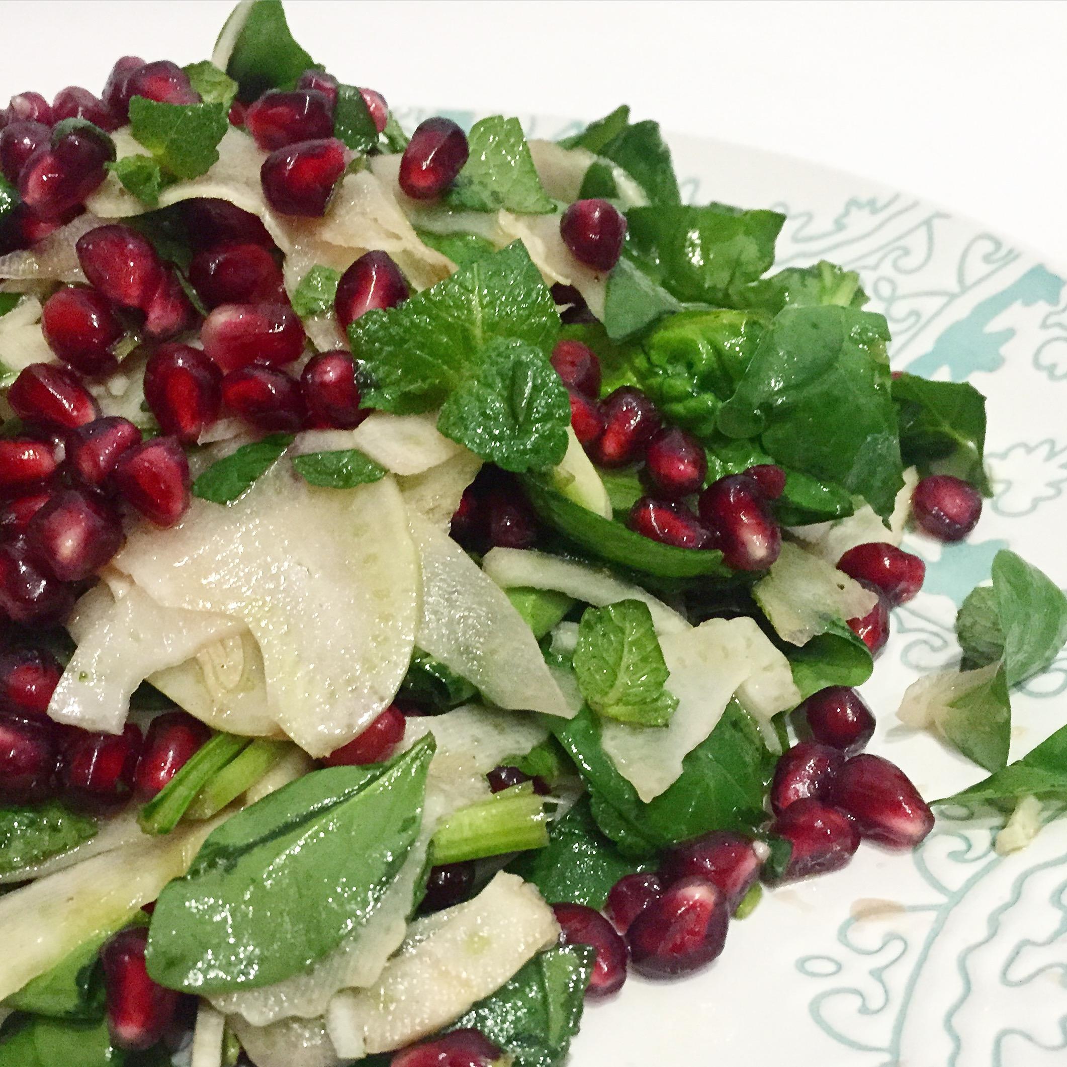 Pomegranate & Fennel Salad