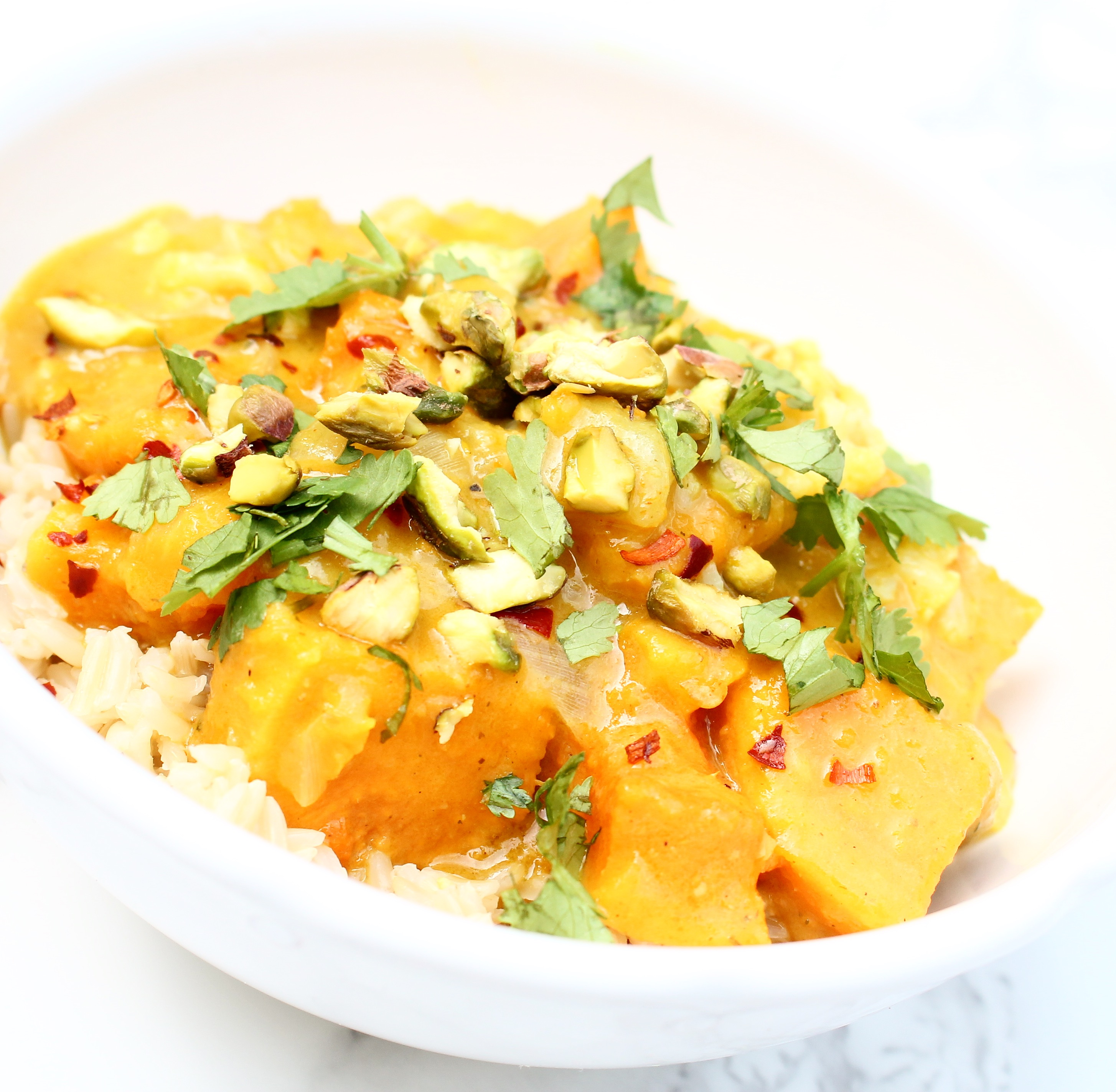Sweet Potato Lemongrass Coconut Curry