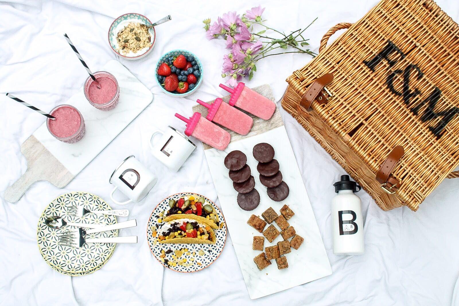 Healthy Organic Summer Picnic